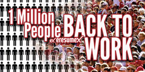 1 Million People Back To Work