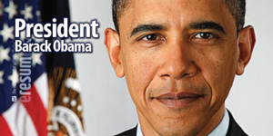 President Obama – First term promise of unemployment.
